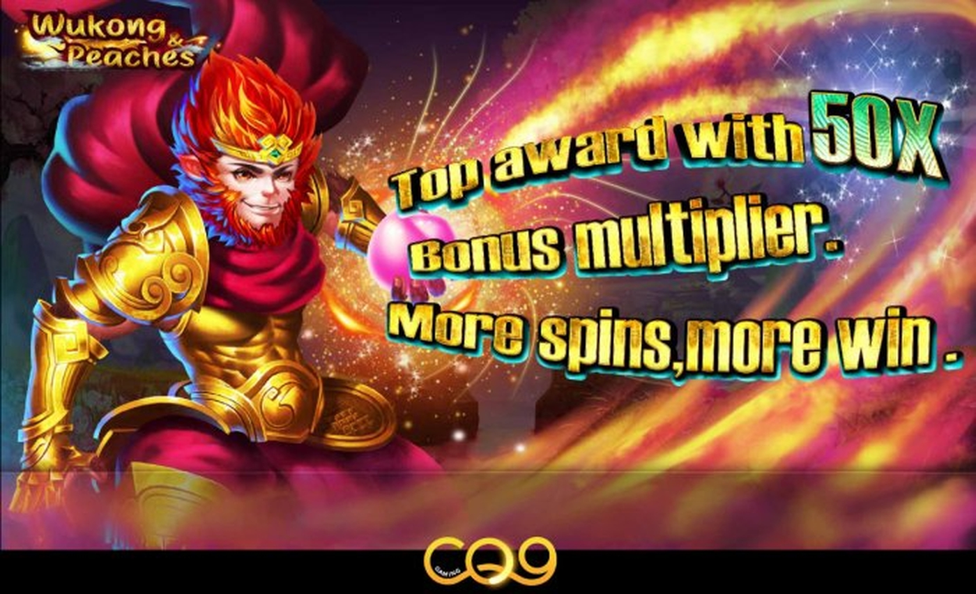 Se Wukong Peaches Online Slot Demo Game, CQ9Gaming