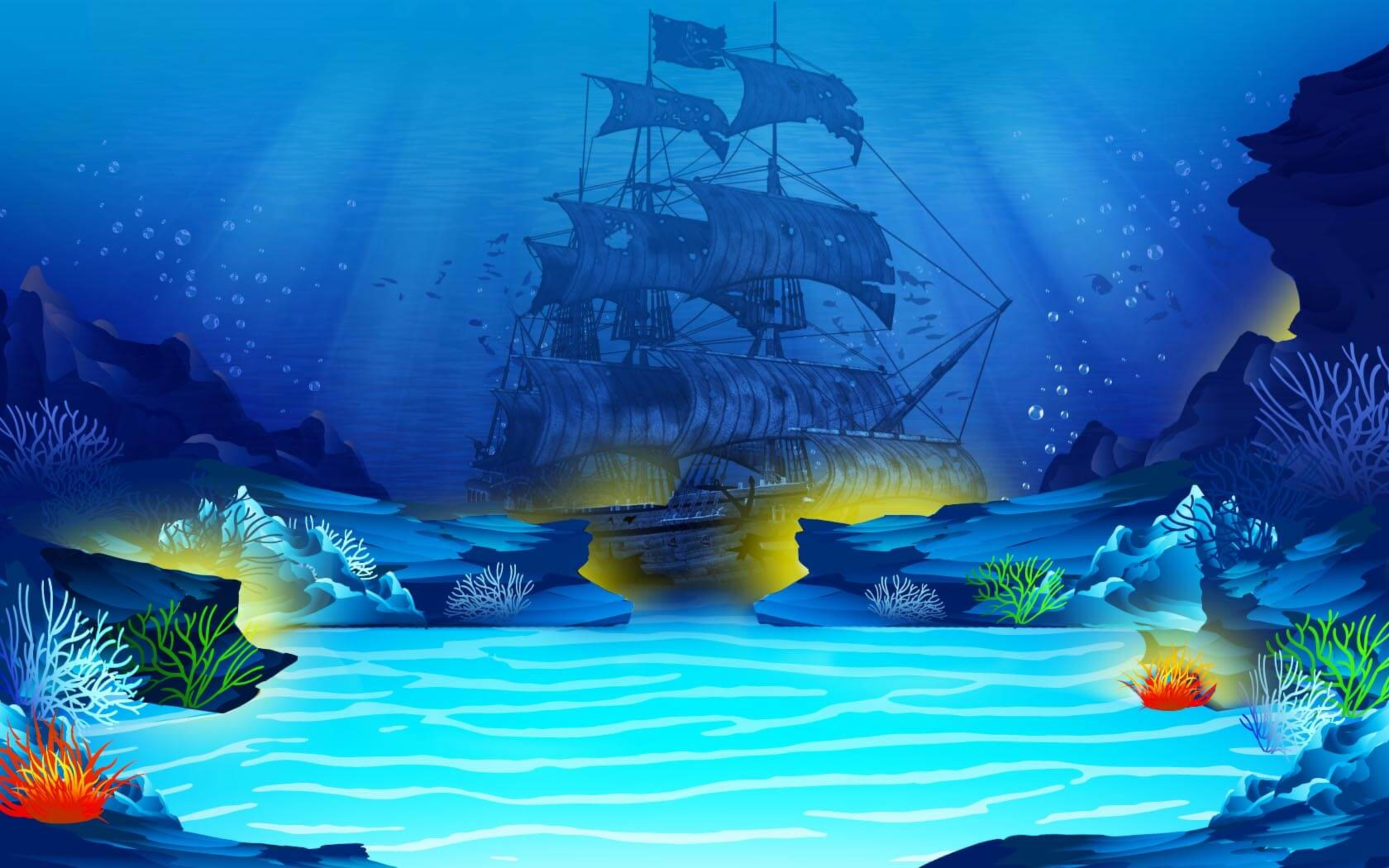 Se Underwater Riches Online Slot Demo Game, FBM