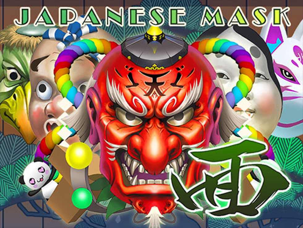 Se Japanese Mask Online Slot Demo Game, Gamatron