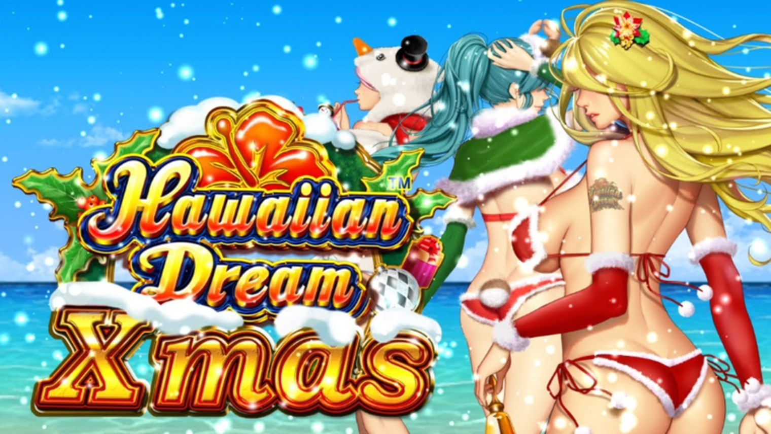 Se Hawaiian Dream Xmas Online Slot Demo Game, JTG