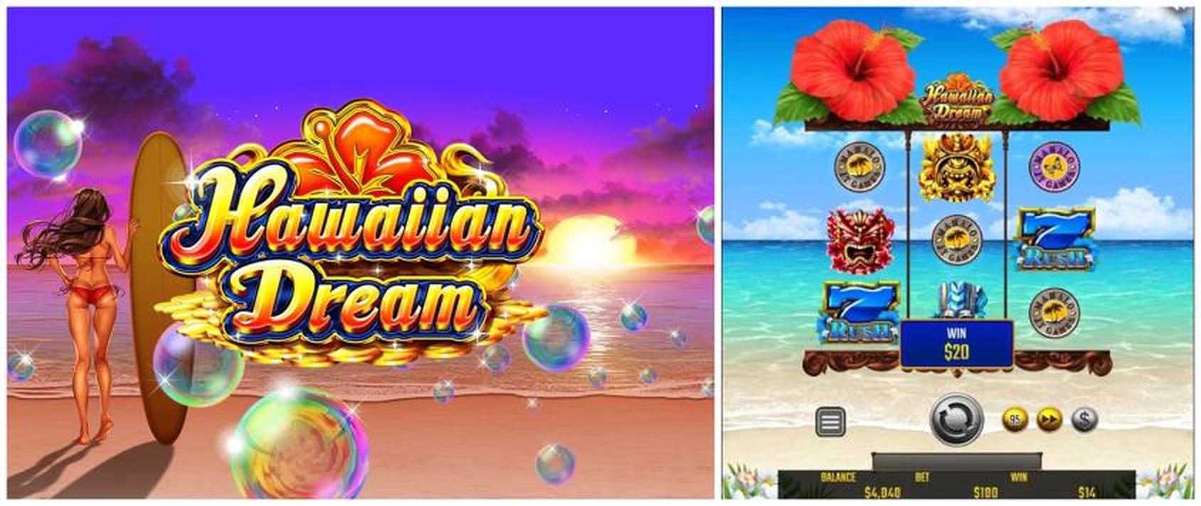Se Hawaiian Dream Online Slot Demo Game, JTG