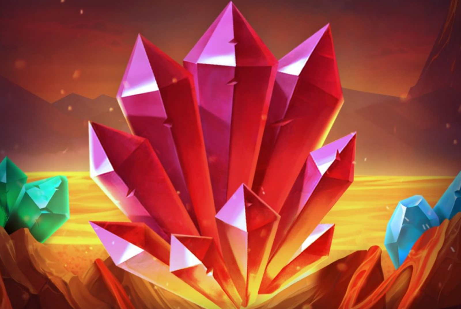 Se Max Diamond Online Slot Demo Game, Magma
