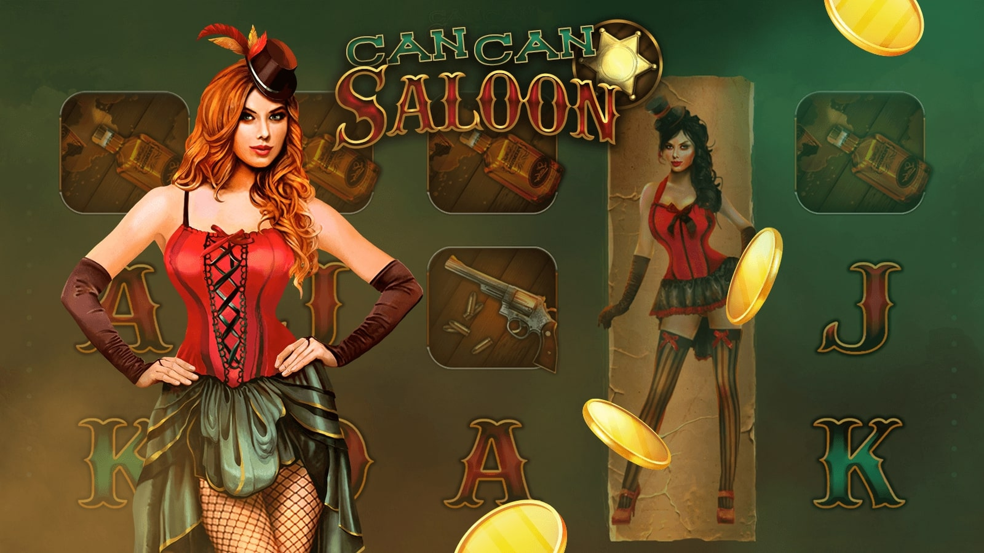 Se CanCan Saloon Online Slot Demo Game, Mascot Gaming