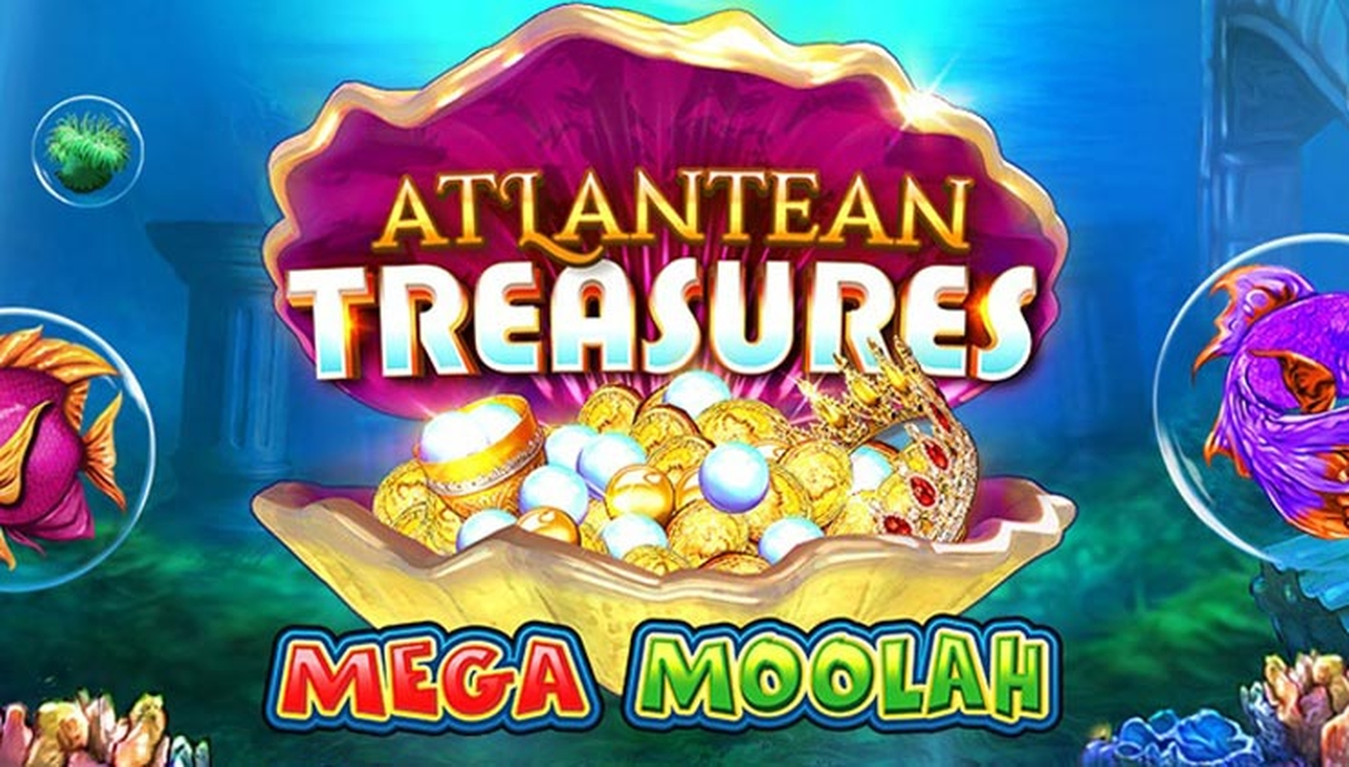 Se Atlantean Treasures Mega Moolah Online Slot Demo Game, Neon Valley Studios