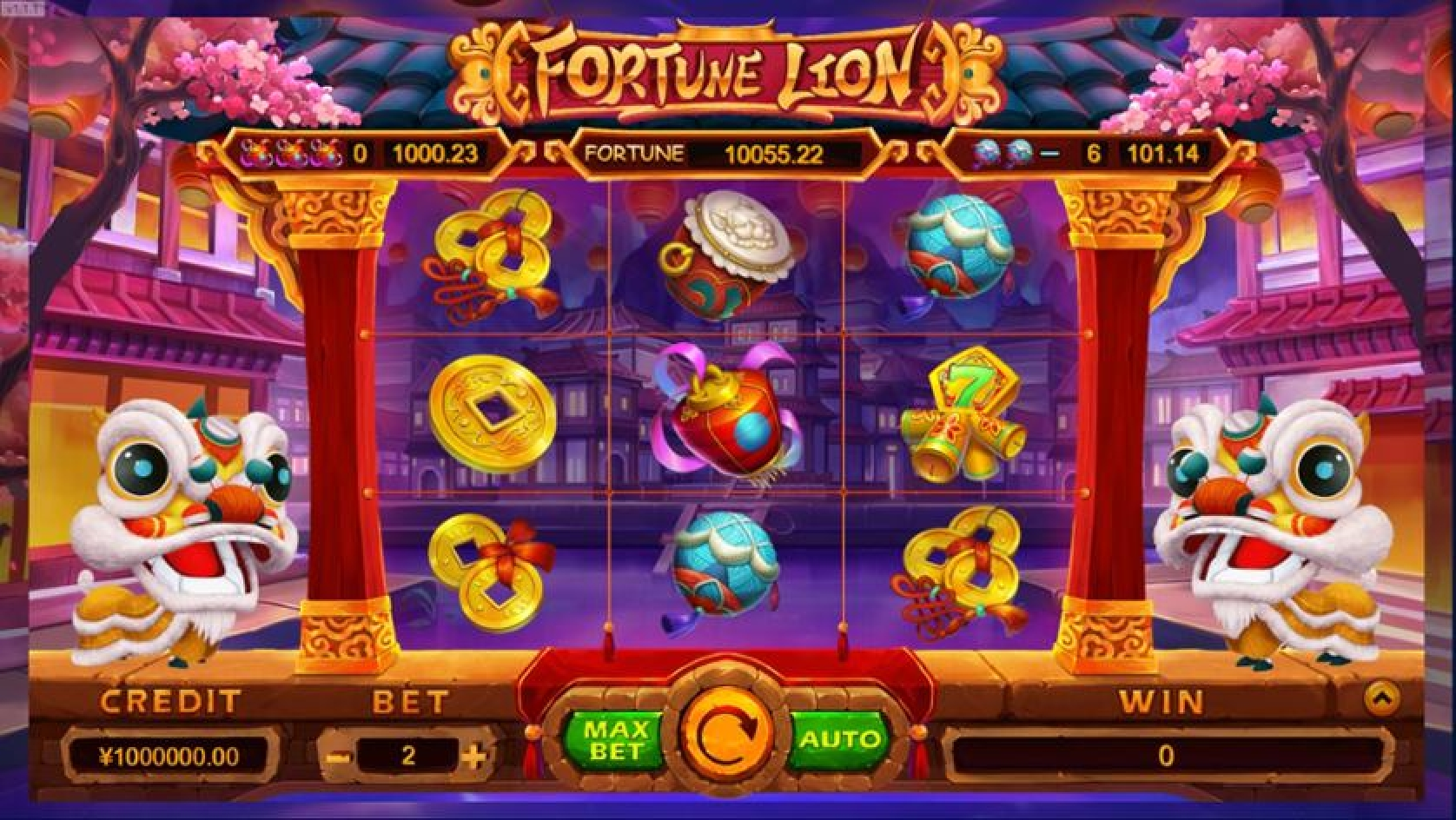 Se Fortune Lion (TIDY) Online Slot Demo Game, TIDY