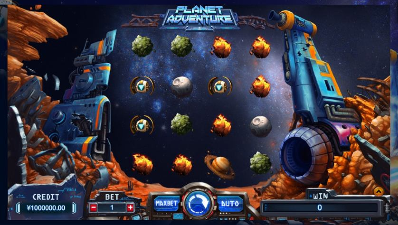 Se Planet Adventure Online Slot Demo Game, TIDY