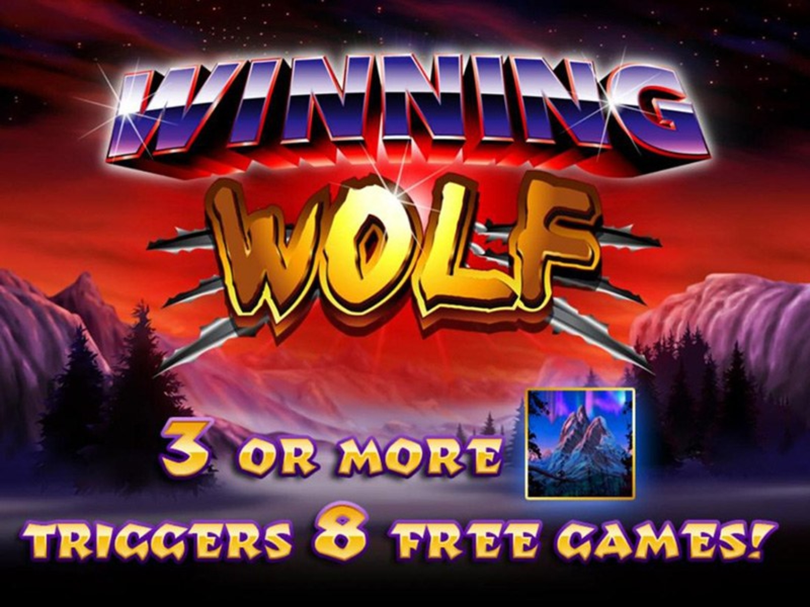Se Winning Wolf Online Slot Demo Game, Ainsworth Gaming Technology