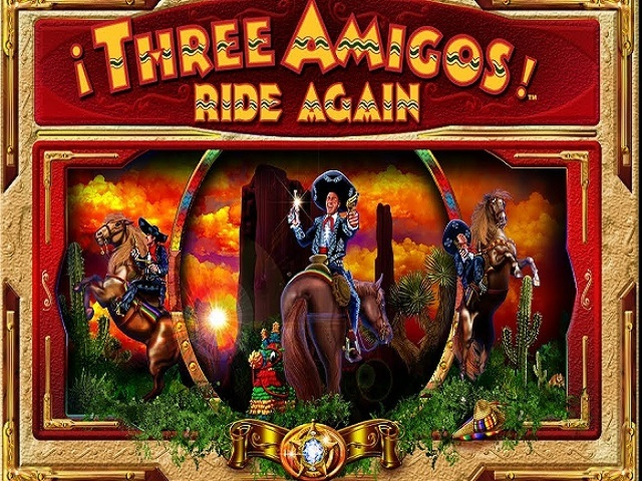 Se Three Amigos Online Slot Demo Game, AlteaGaming