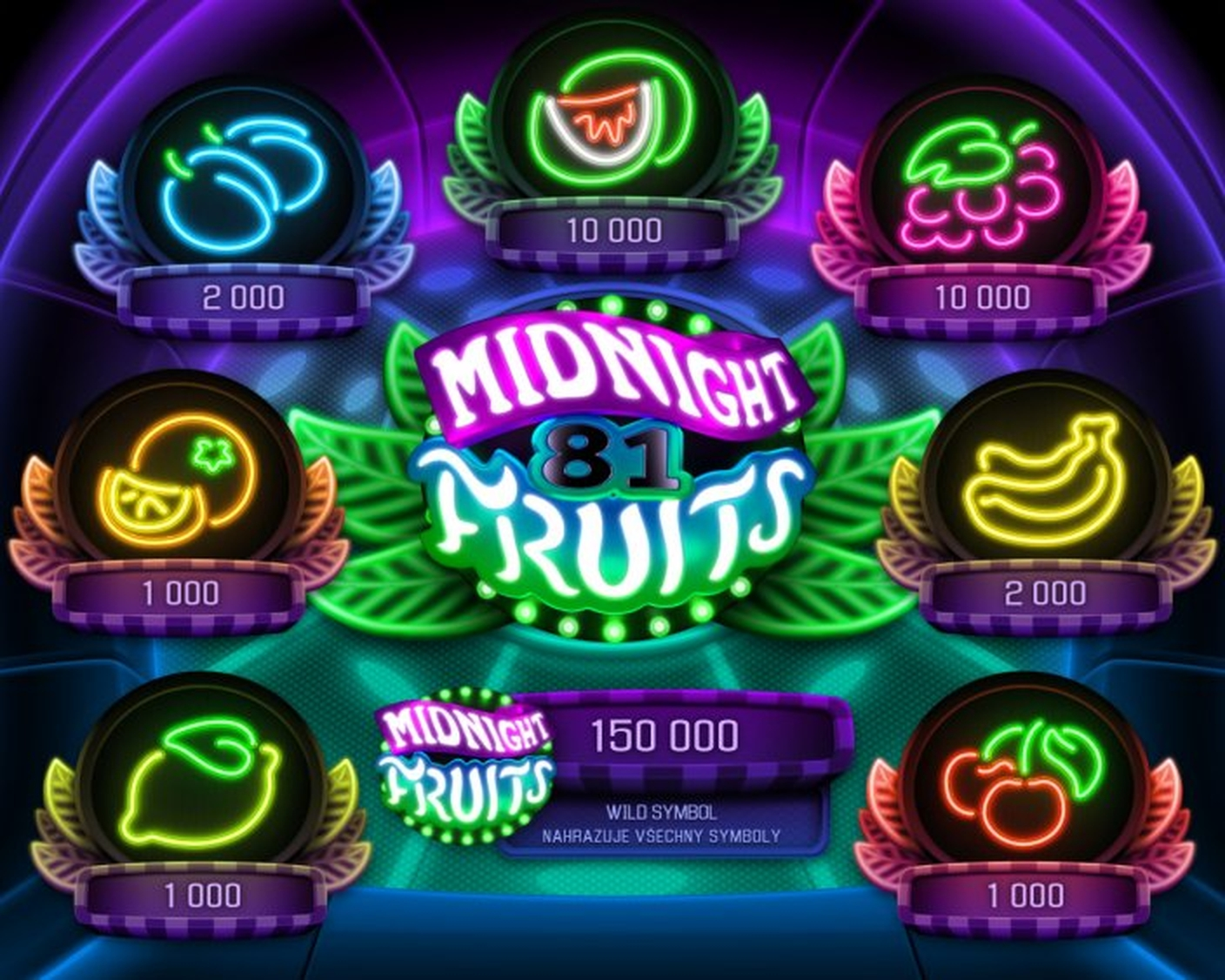 Se Midnight Fruits Online Slot Demo Game, Apollo Games