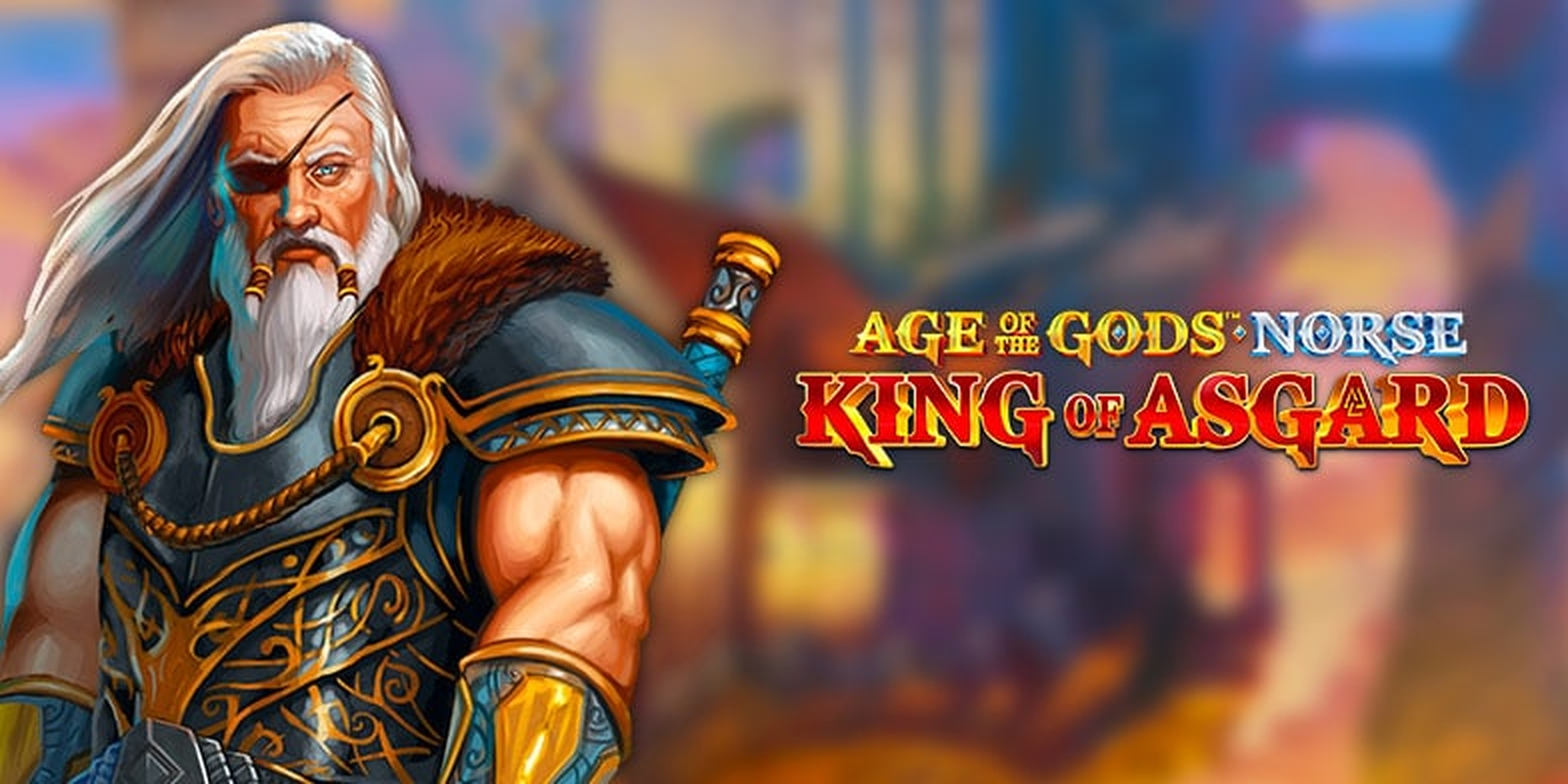 Se Age of the Gods Norse King of Asgard Online Slot Demo Game, Ash Gaming