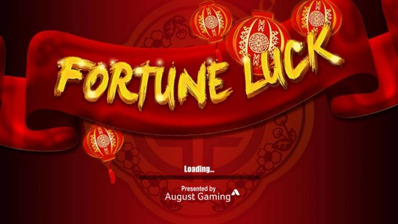 Se Fortune Luck Online Slot Demo Game, August Gaming