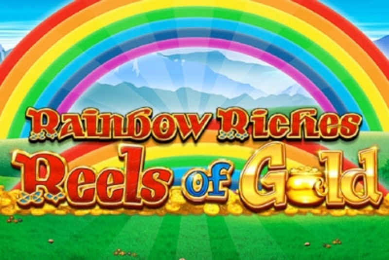 Kelat Rainbow Riches Reels of Gold hedelmäpelissä Barcrest Games