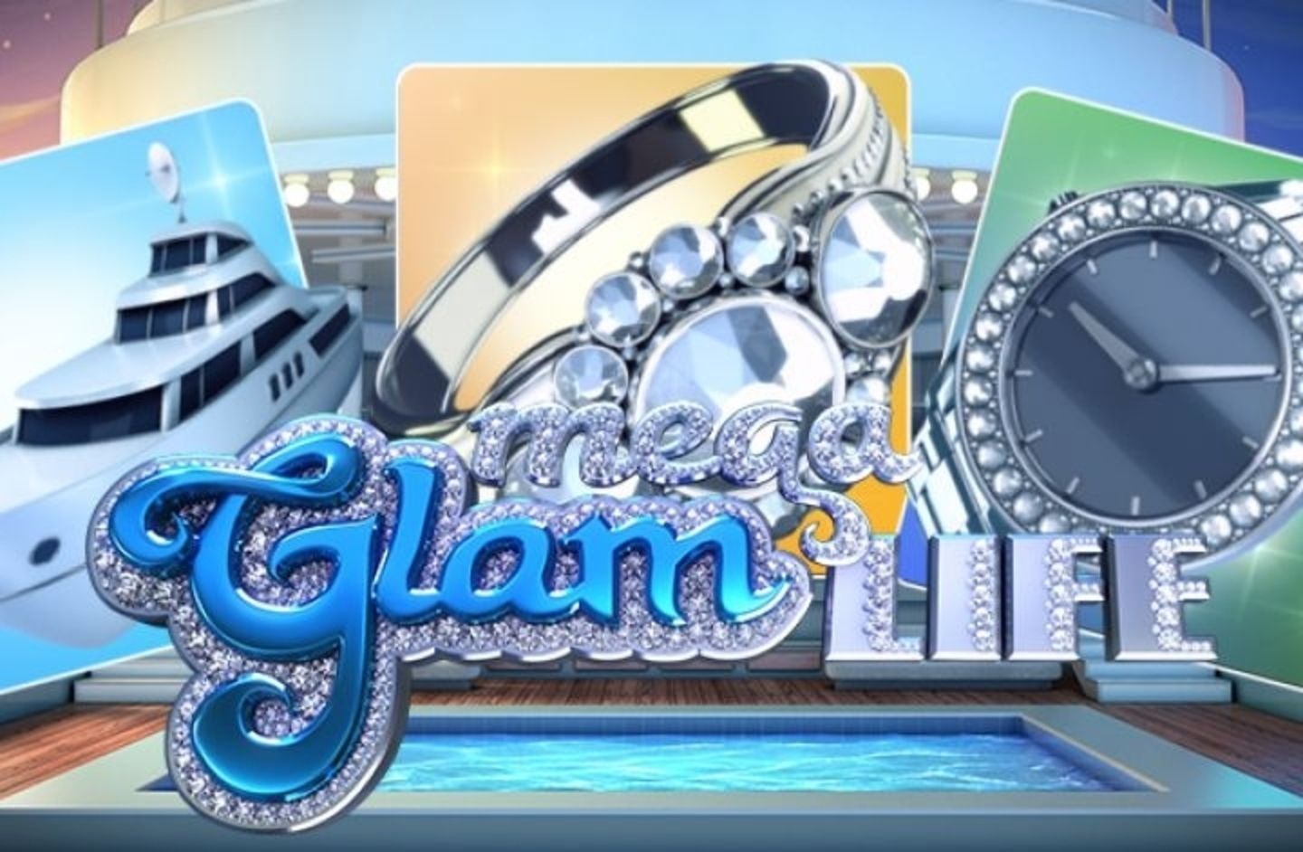 Se Mega Glam Life Online Slot Demo Game, Betsoft