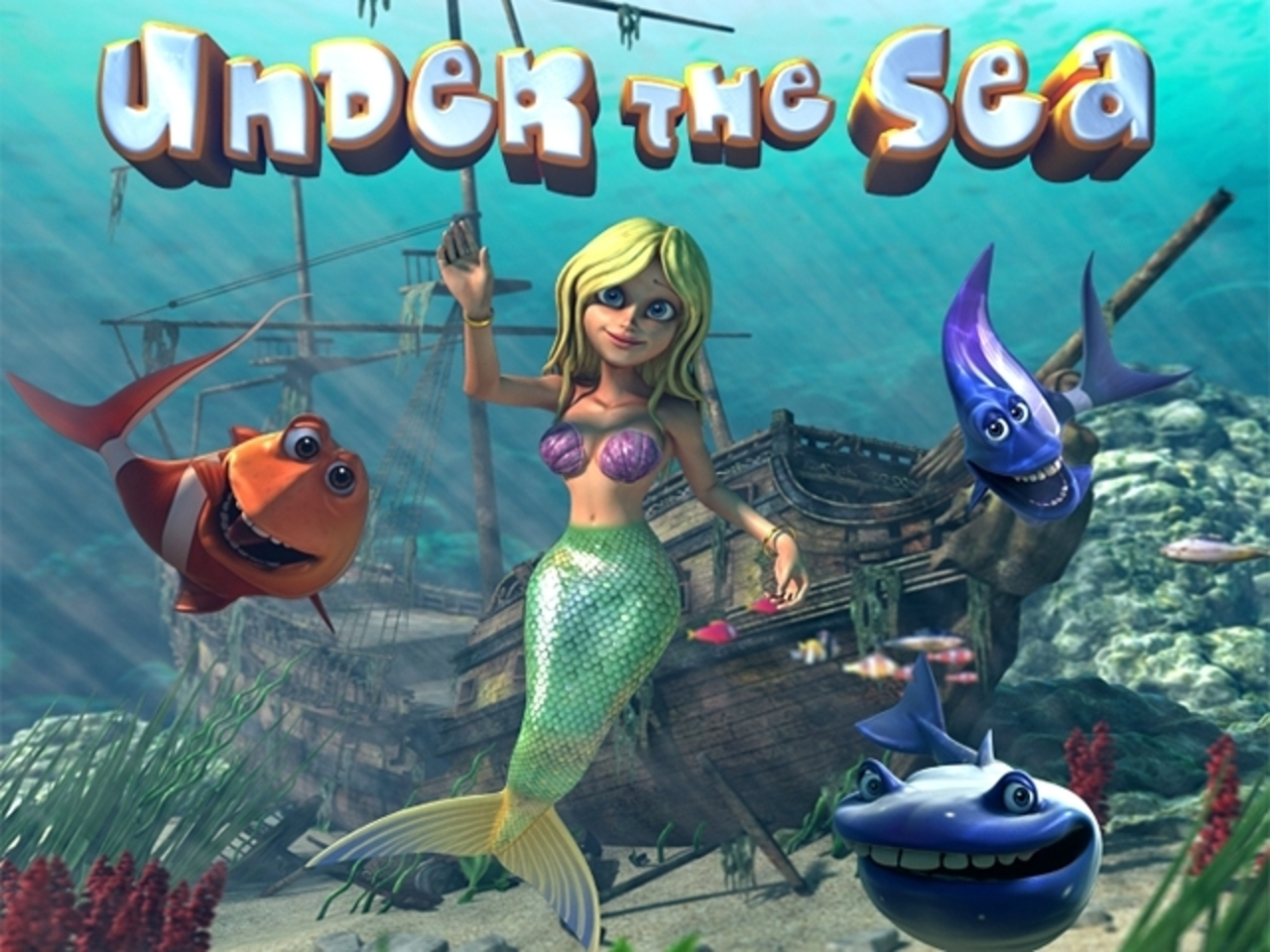 Se Under the Sea (Betsoft) Online Slot Demo Game, Betsoft