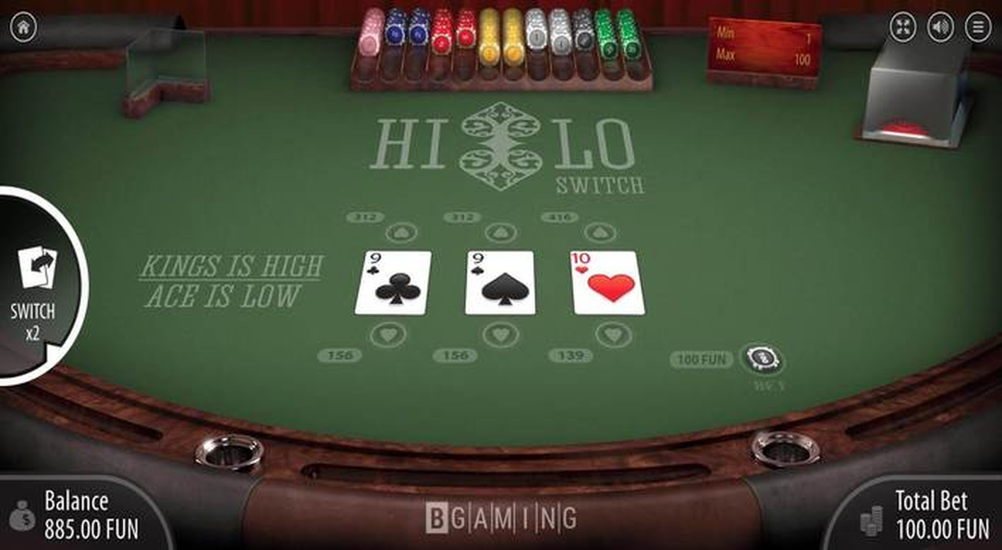 Se Hi Lo Switch Online Slot Demo Game, BGAMING
