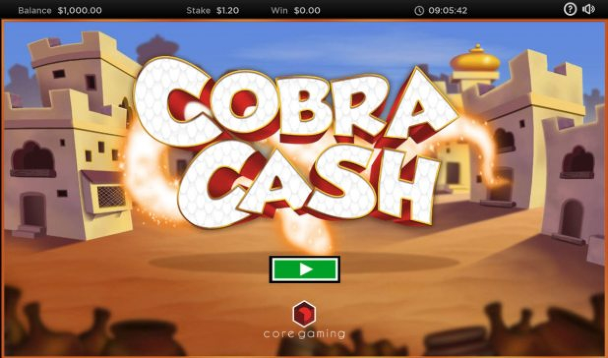 Se Cobra Cash Online Slot Demo Game, CORE Gaming