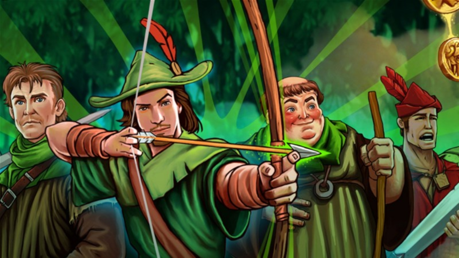Se Robin Hood (CORE Gaming) Online Slot Demo Game, CORE Gaming