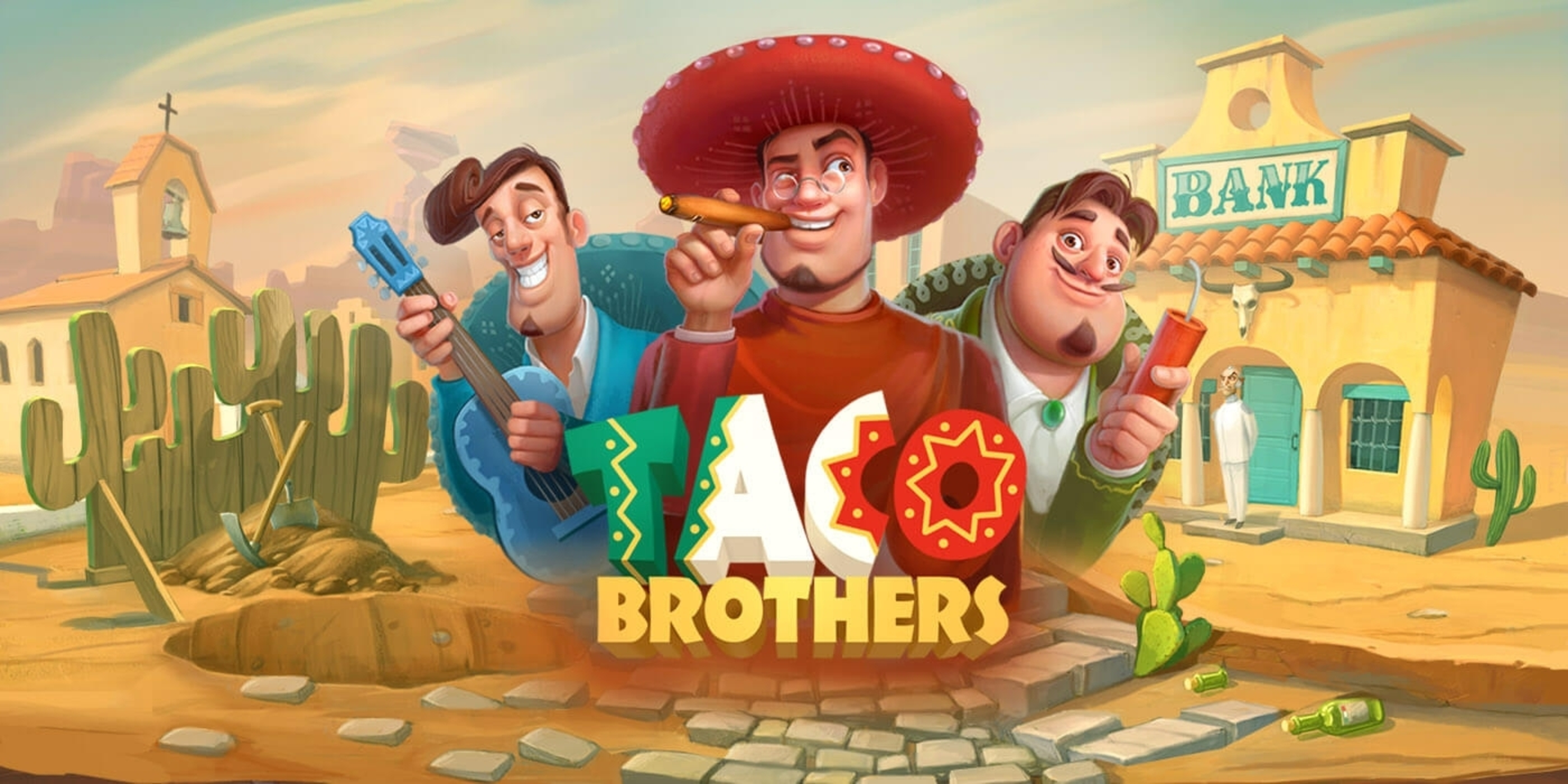 Se Taco Brothers Online Slot Demo Game, ELK Studios