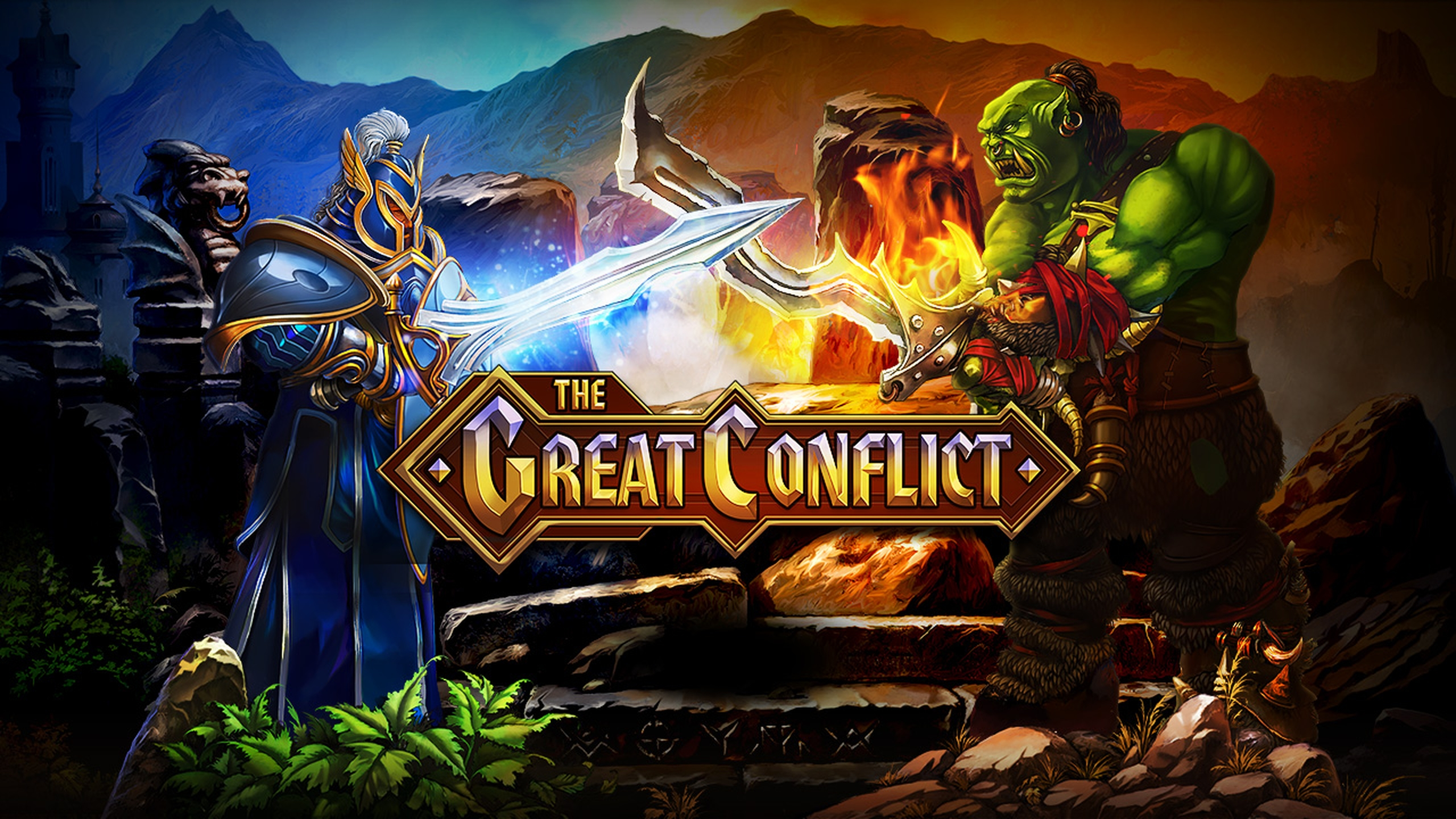 Se The Great Conflict Online Slot Demo Game, Evoplay Entertainment