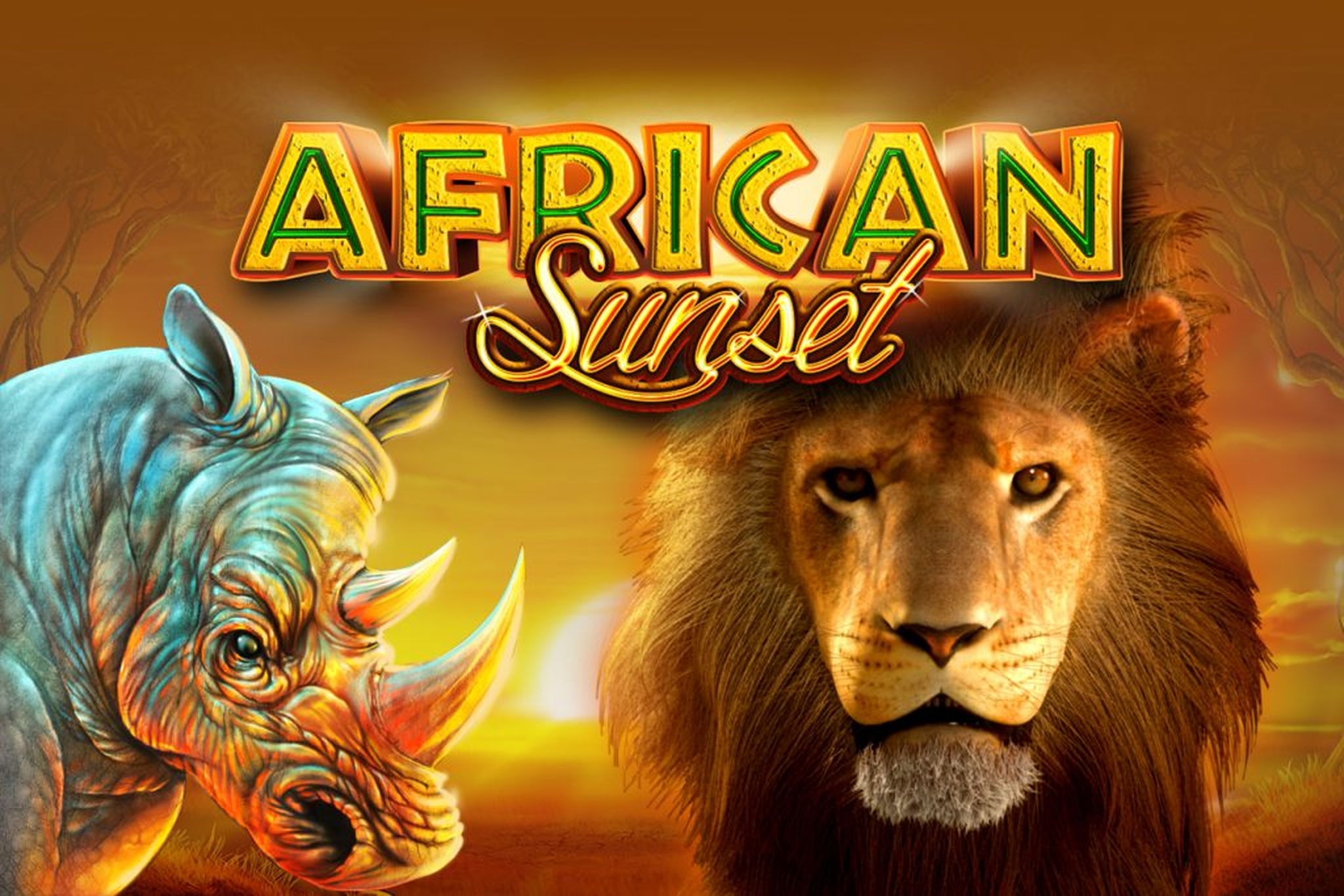 Se African Sunset (GameArt) Online Slot Demo Game, GameArt