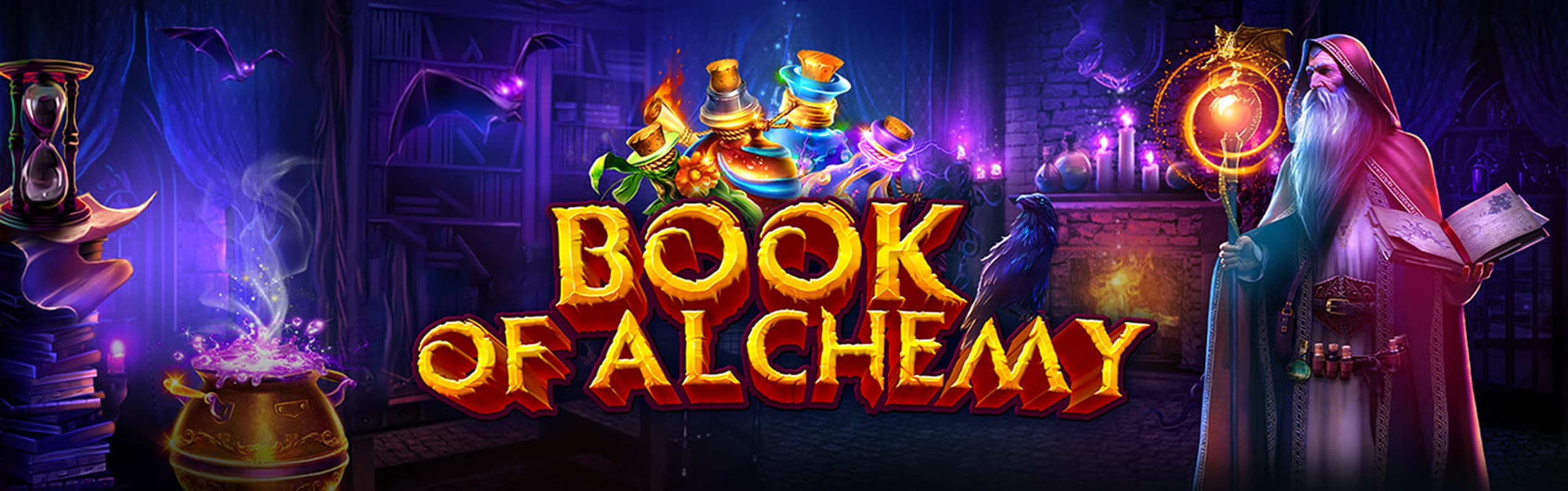 Se Book of Alchemy Online Slot Demo Game, GameArt
