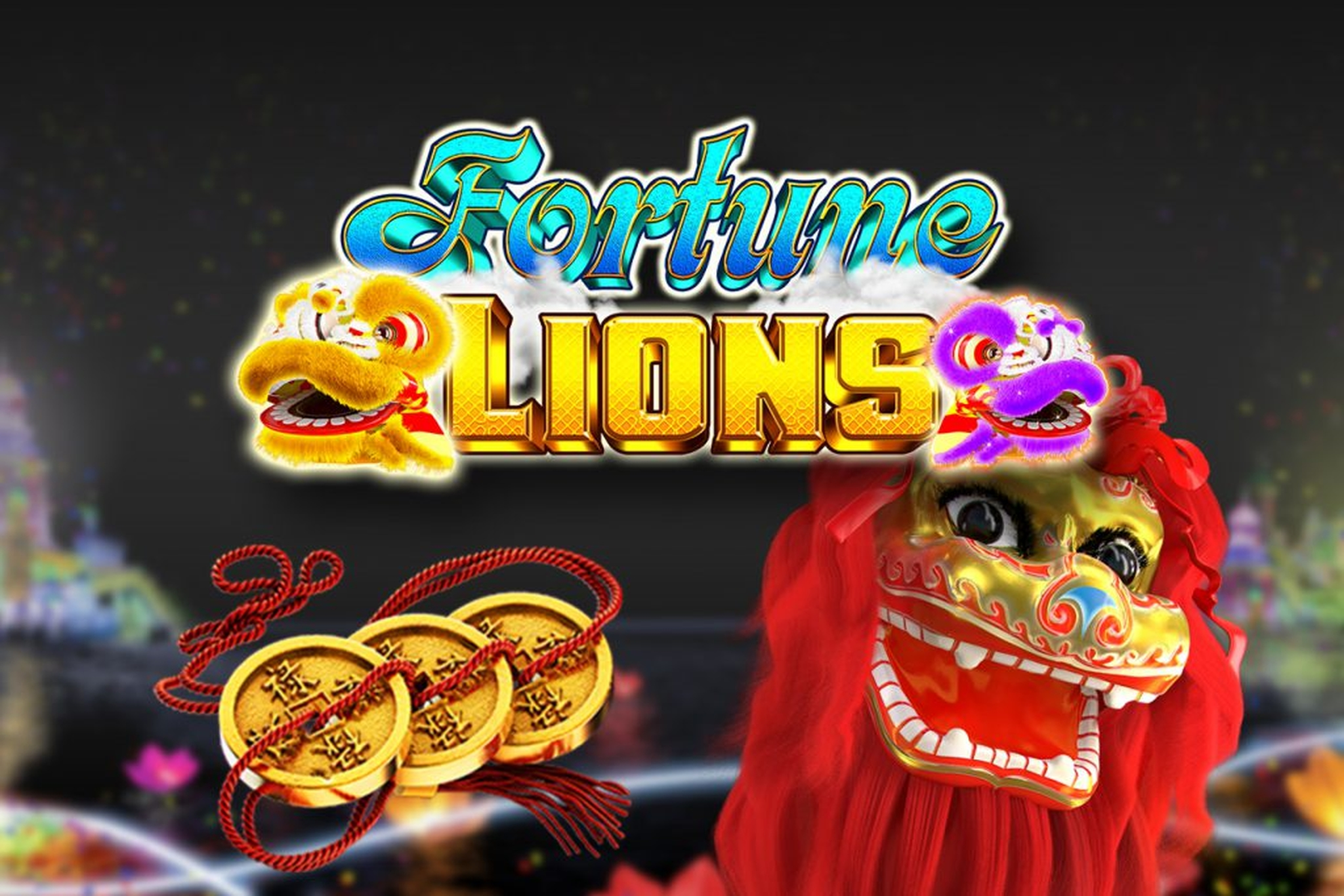 Se Fortune Lions (GameArt) Online Slot Demo Game, GameArt
