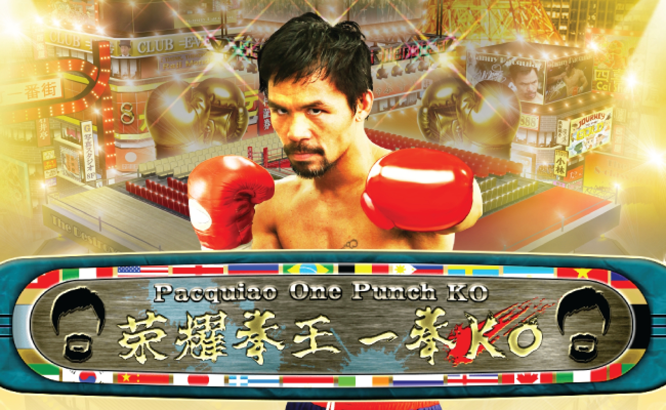 Se Pacquiao One Punch KO Online Slot Demo Game, Ganapati