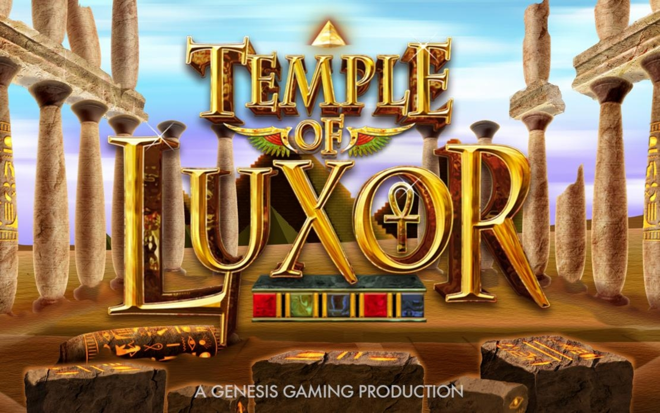 Se Temple of Luxor Online Slot Demo Game, Genesis