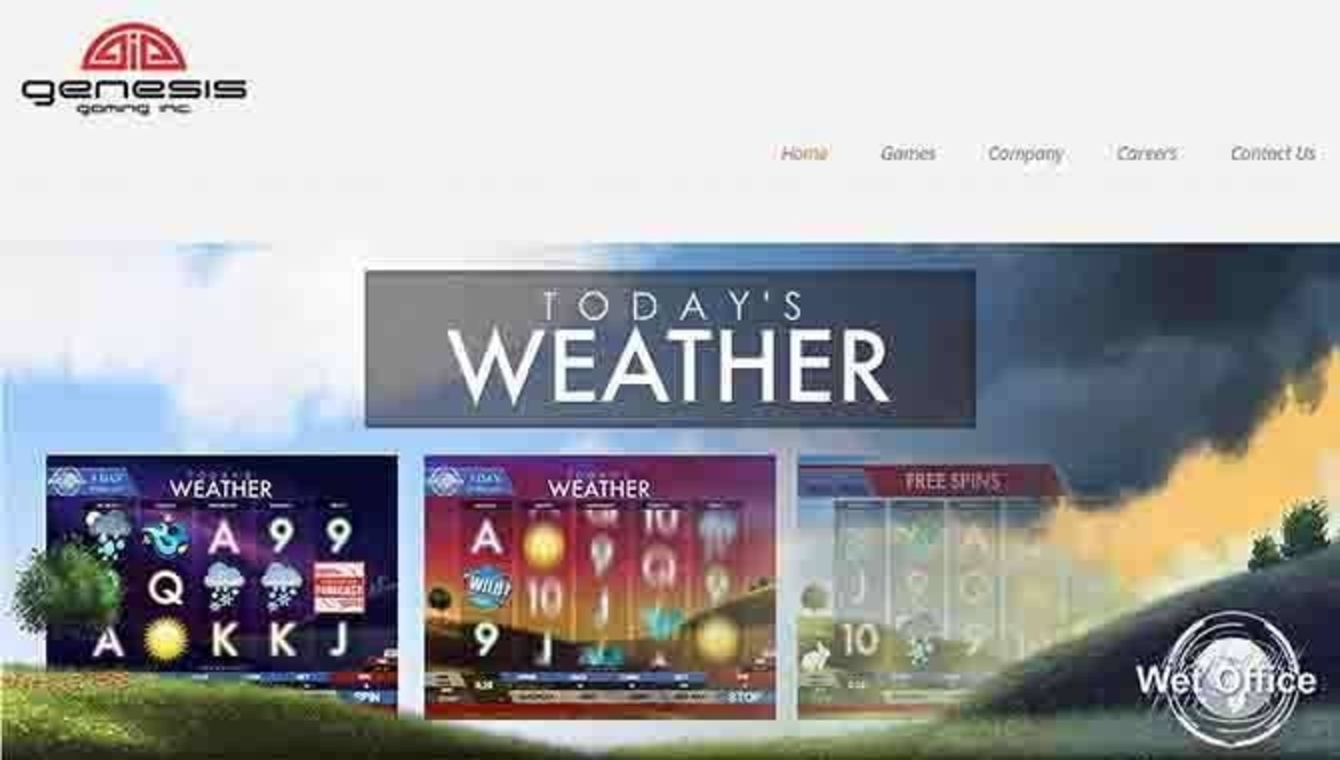 Se Today's Weather Online Slot Demo Game, Genesis