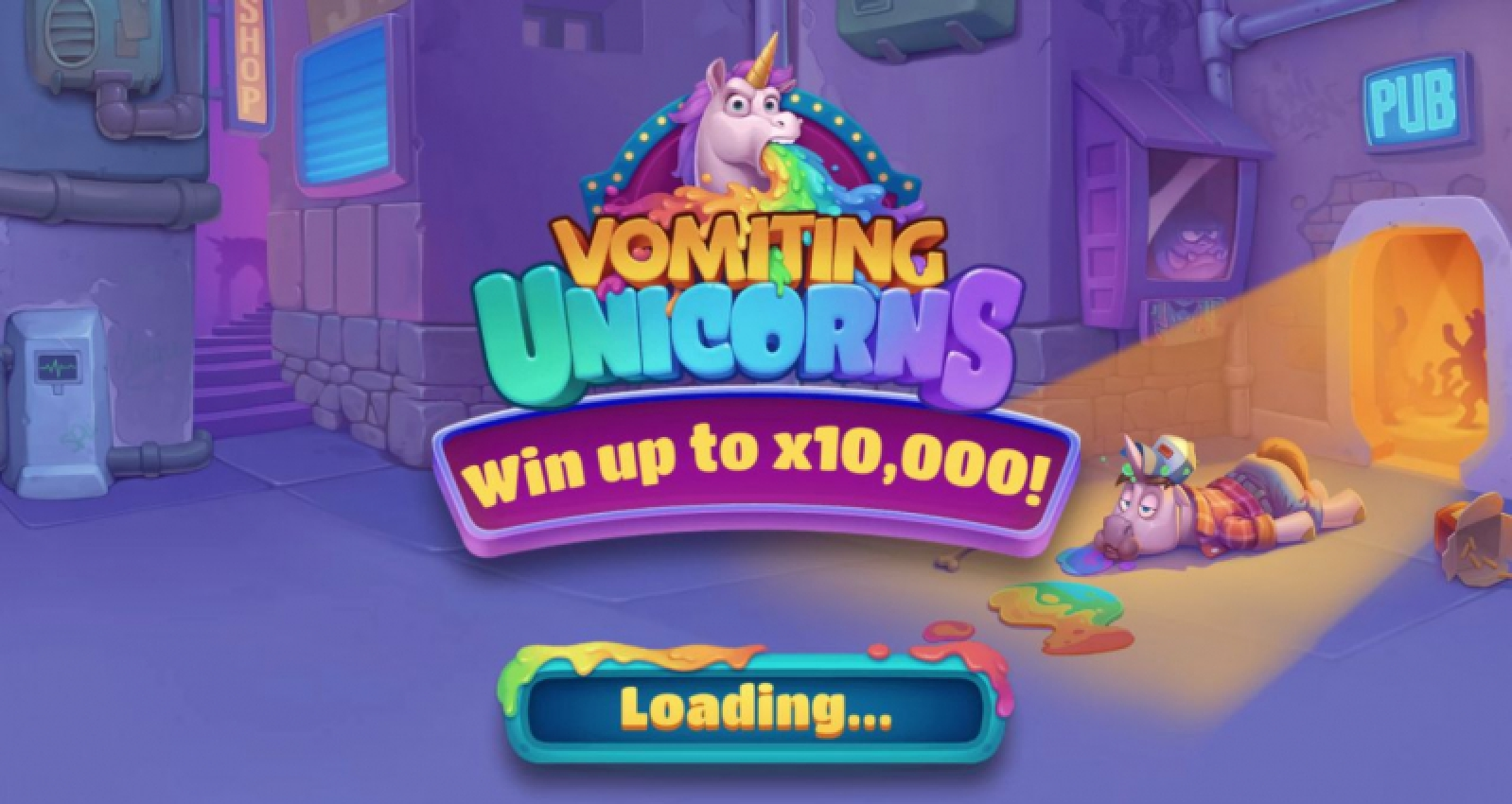 Se Vomiting Unicorns Online Slot Demo Game, Gluck Games
