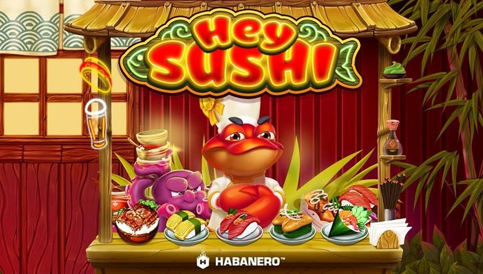Se Hey Sushi Online Slot Demo Game, Habanero
