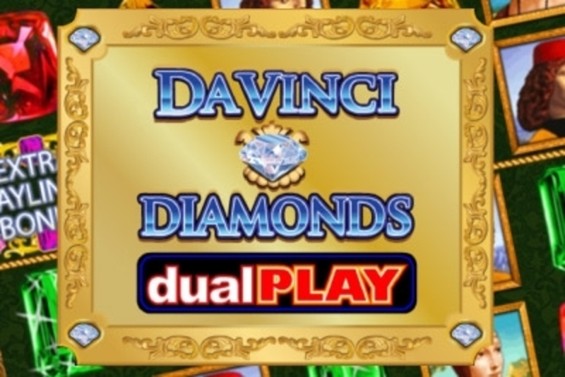 Se Da Vinci Diamonds Dual Play Online Slot Demo Game, IGT
