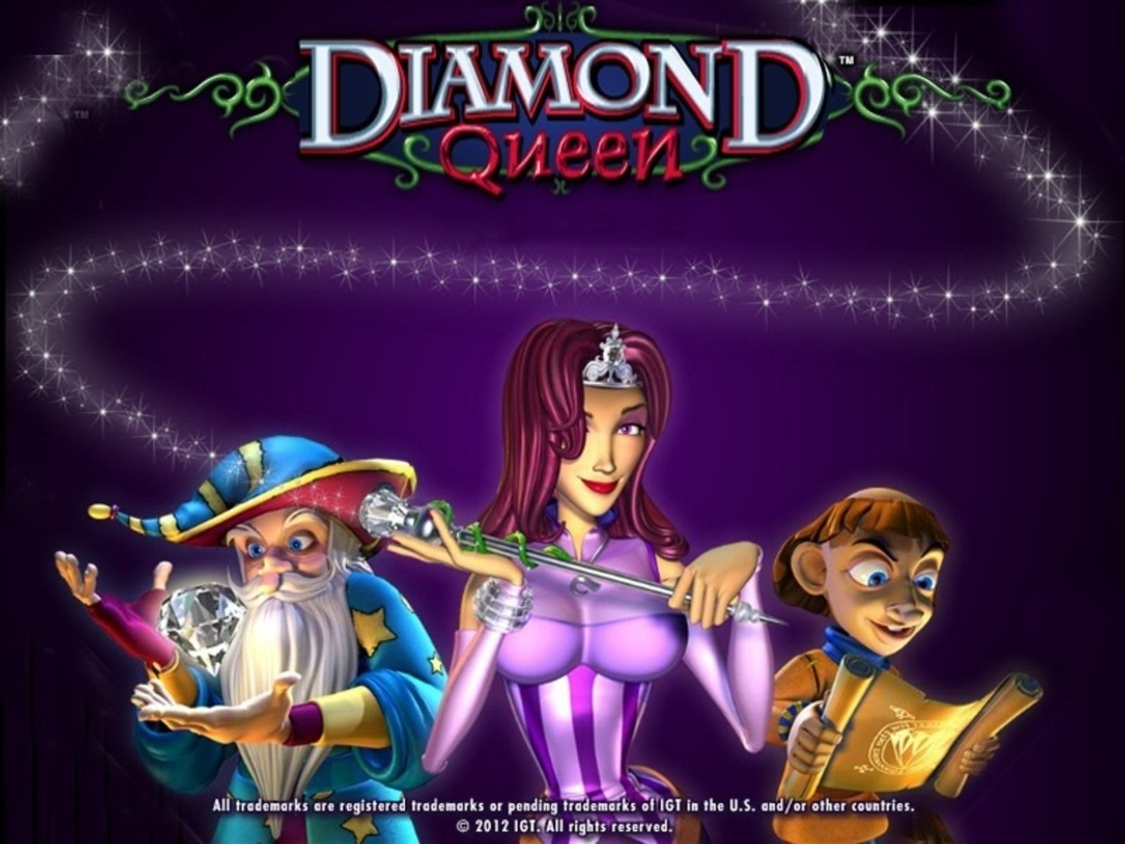 Se Diamond Queen Online Slot Demo Game, IGT