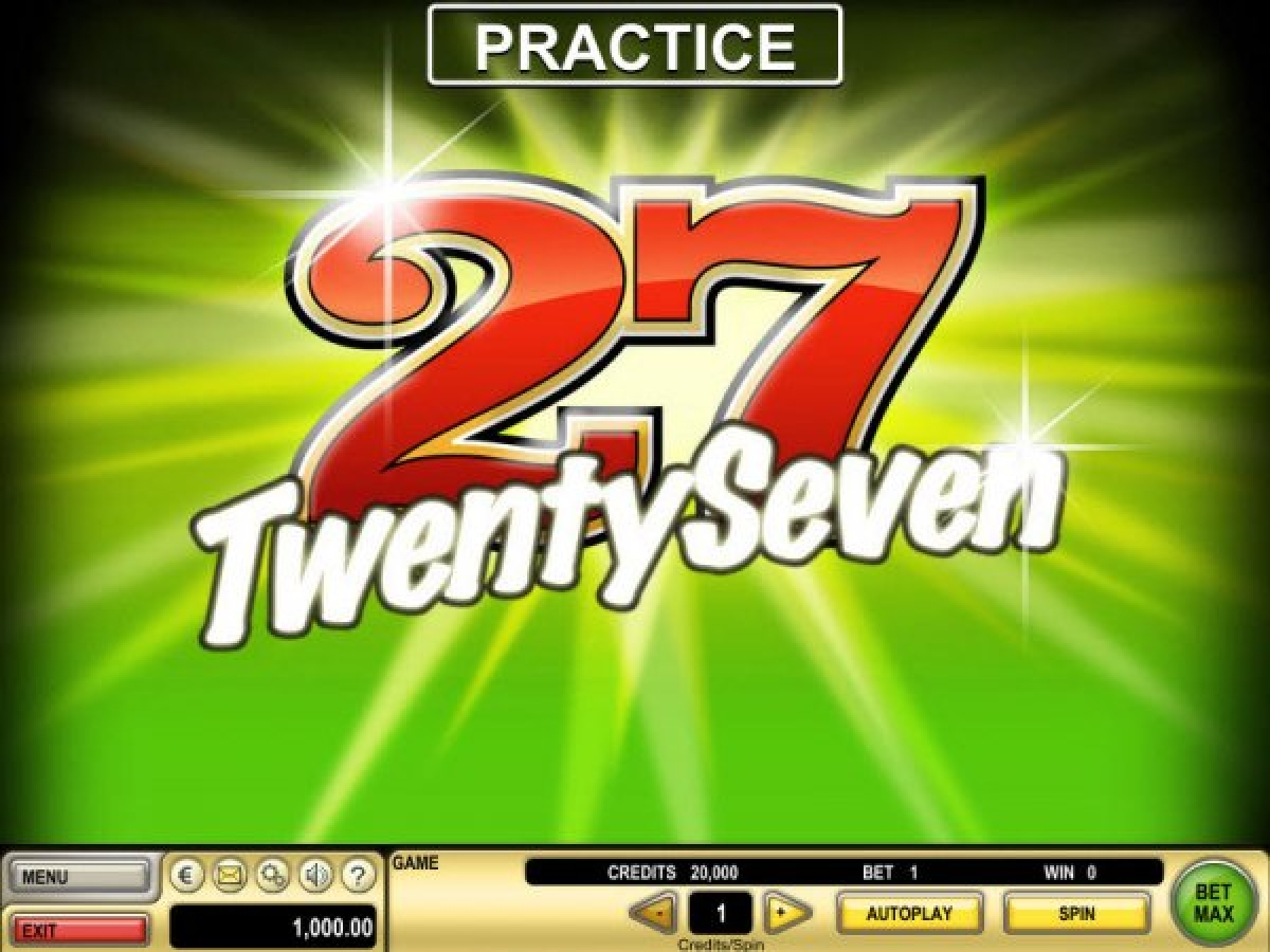 Se Twenty Seven Online Slot Demo Game, IGT