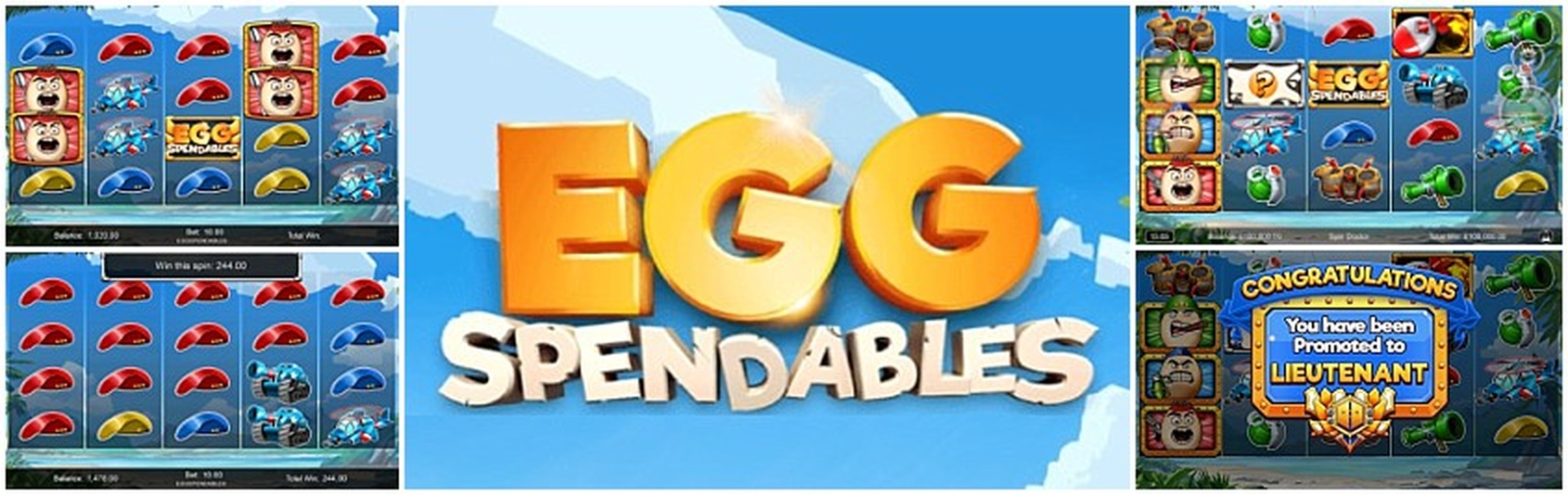 Se Eggspendables Online Slot Demo Game, Incredible Technologies