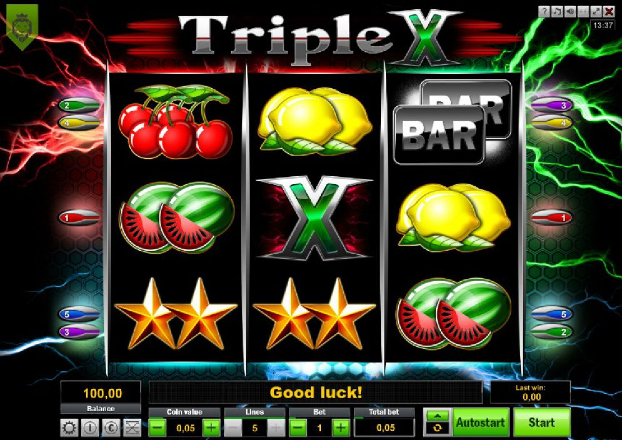 Se Triple X Online Slot Demo Game, LionLine