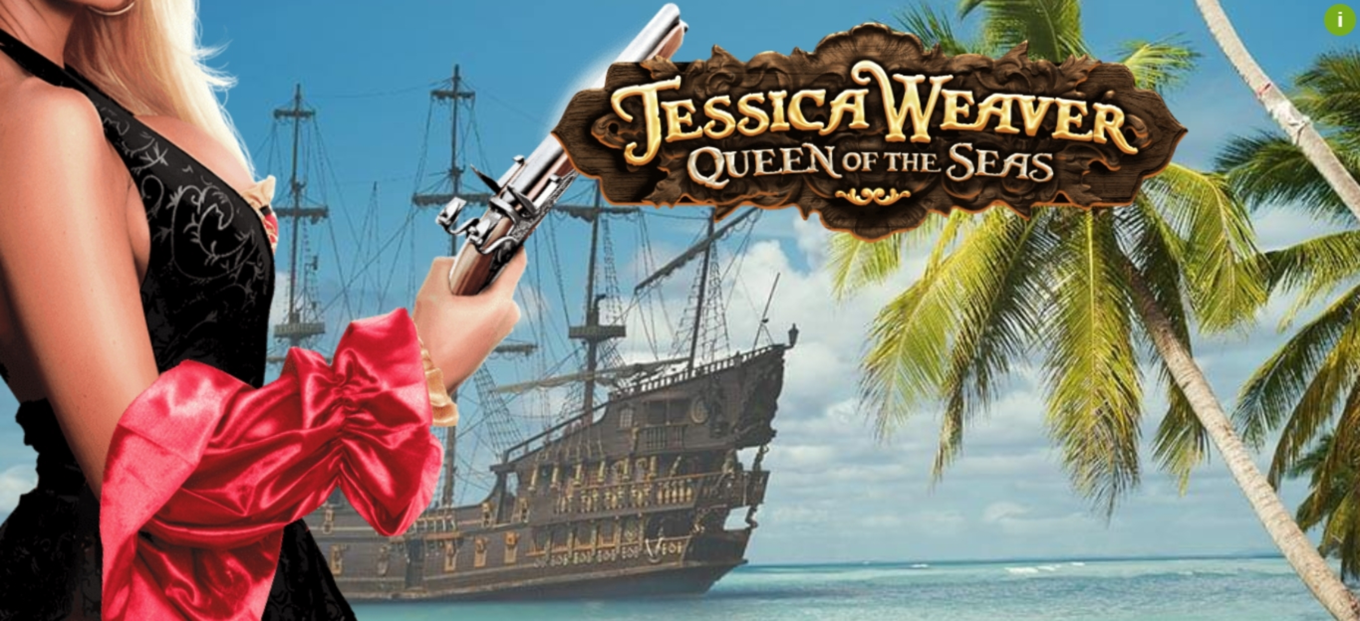 Se Jessica Weaver Queen of the Seas Online Slot Demo Game, MGA