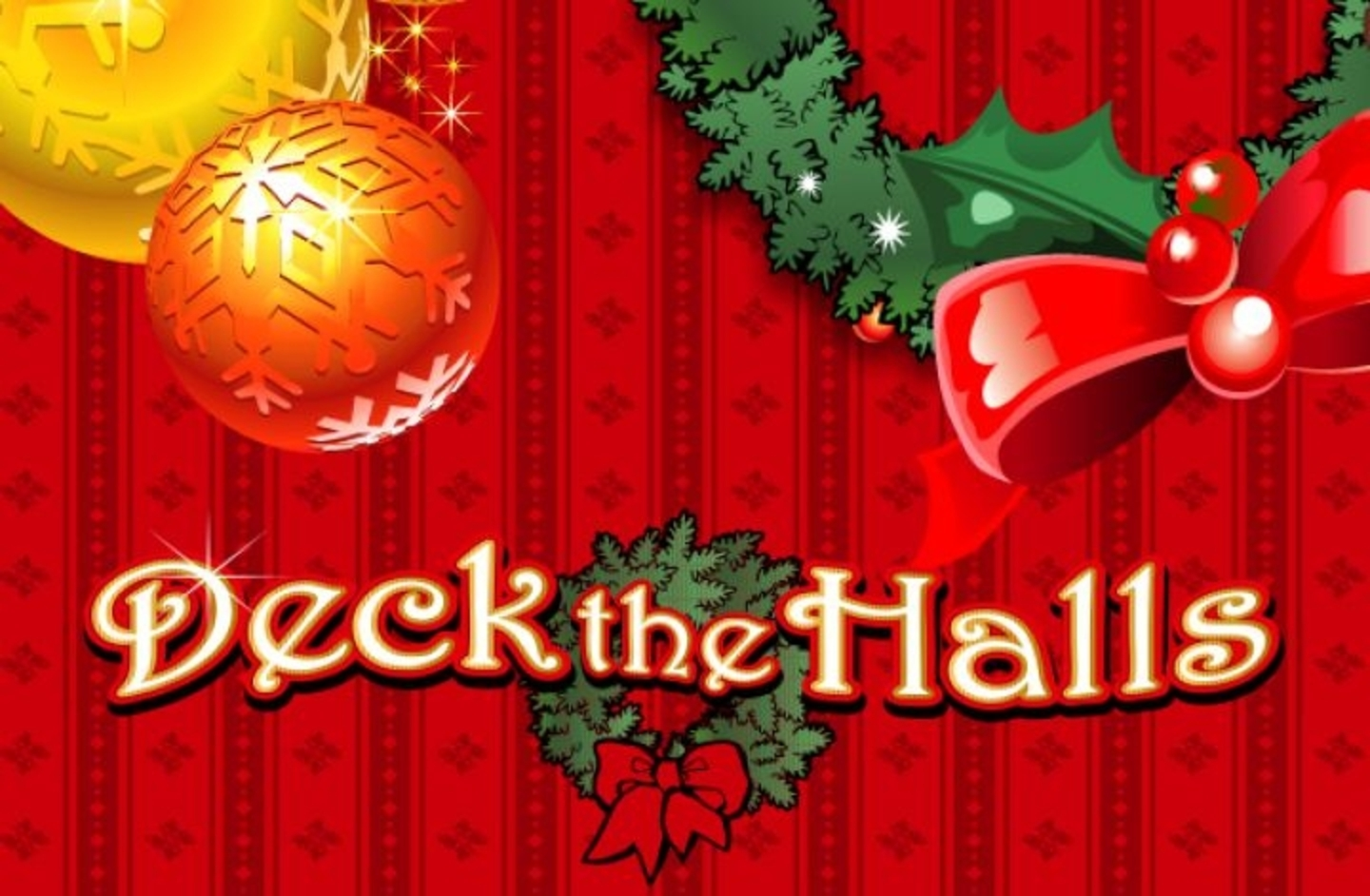 Se Deck the Halls Online Slot Demo Game, Microgaming
