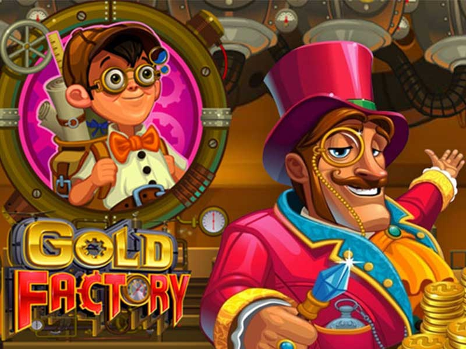 Se Gold Factory Online Slot Demo Game, Microgaming