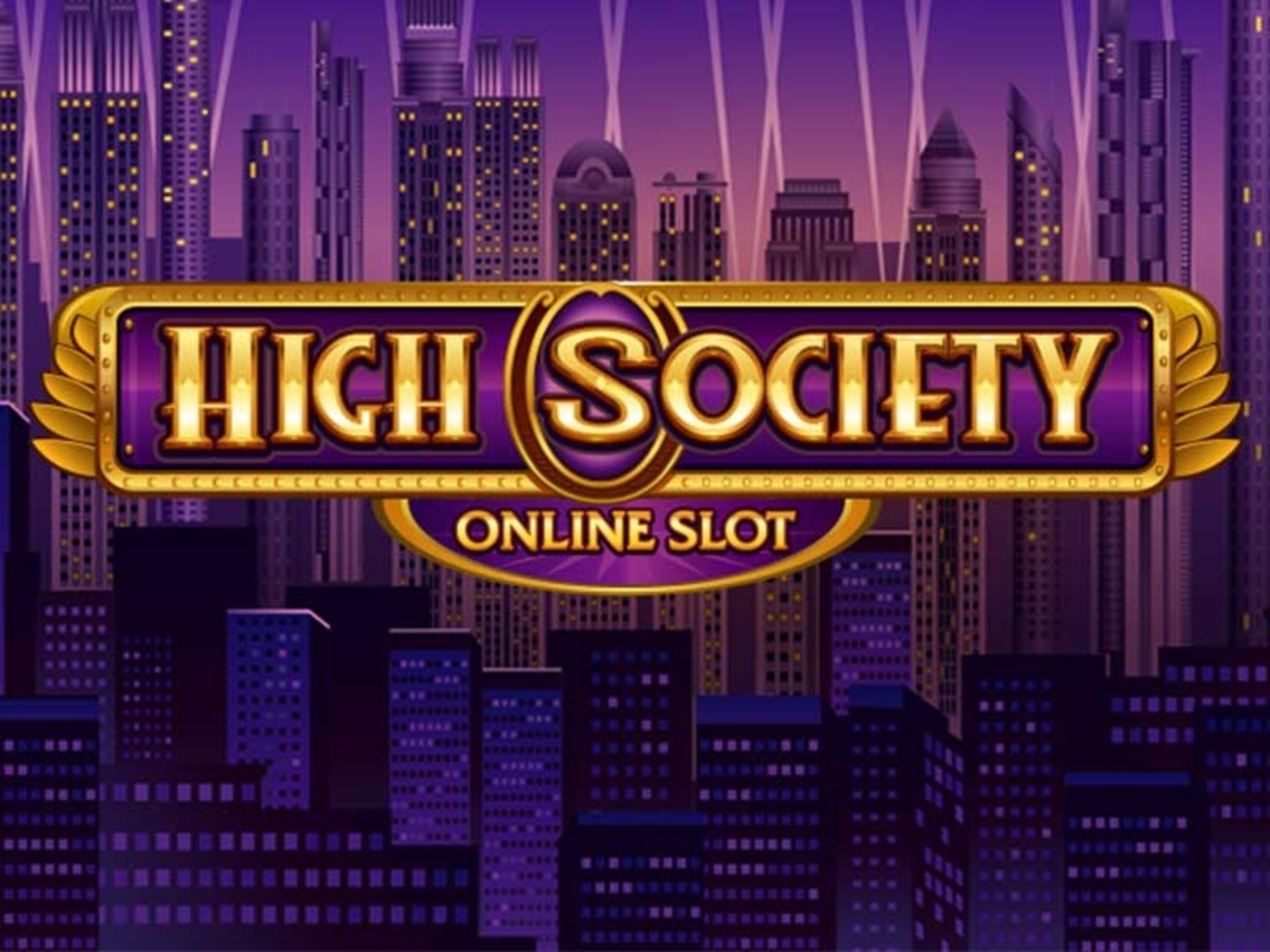 Se High Society Online Slot Demo Game, Microgaming