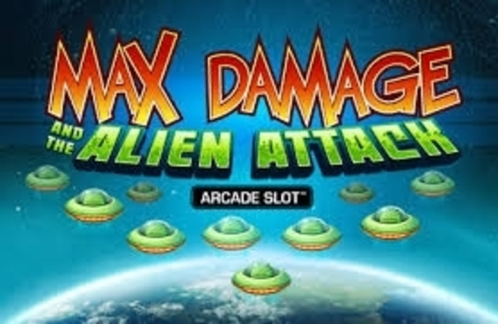 Se Max Damage and the Alien Attack Online Slot Demo Game, Microgaming