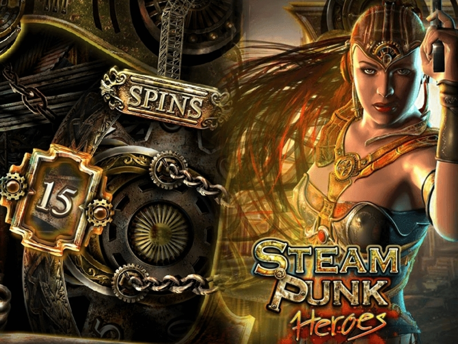 Se Steam Punk Heroes Online Slot Demo Game, Microgaming