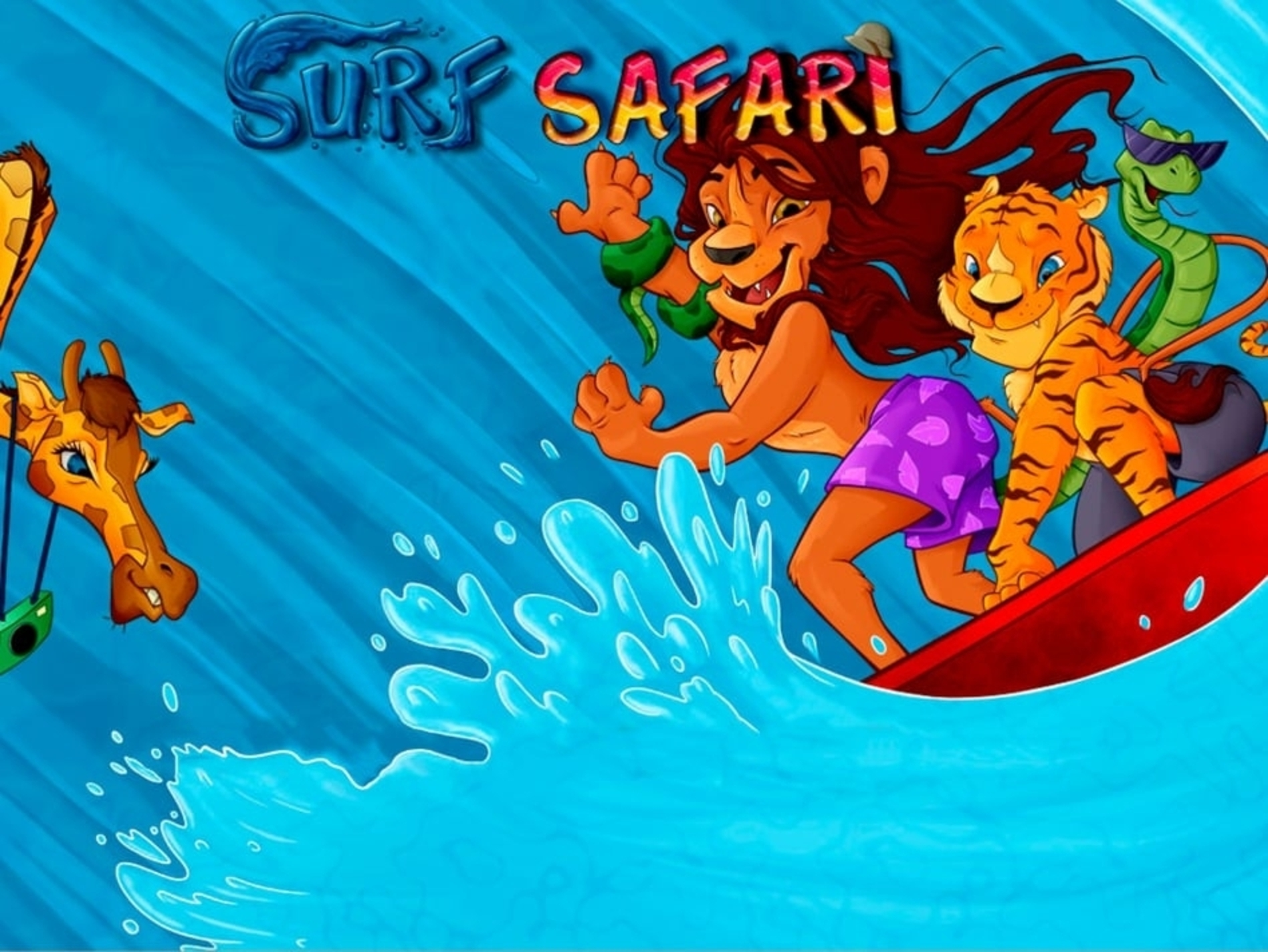 Se Surf Safari Online Slot Demo Game, Microgaming