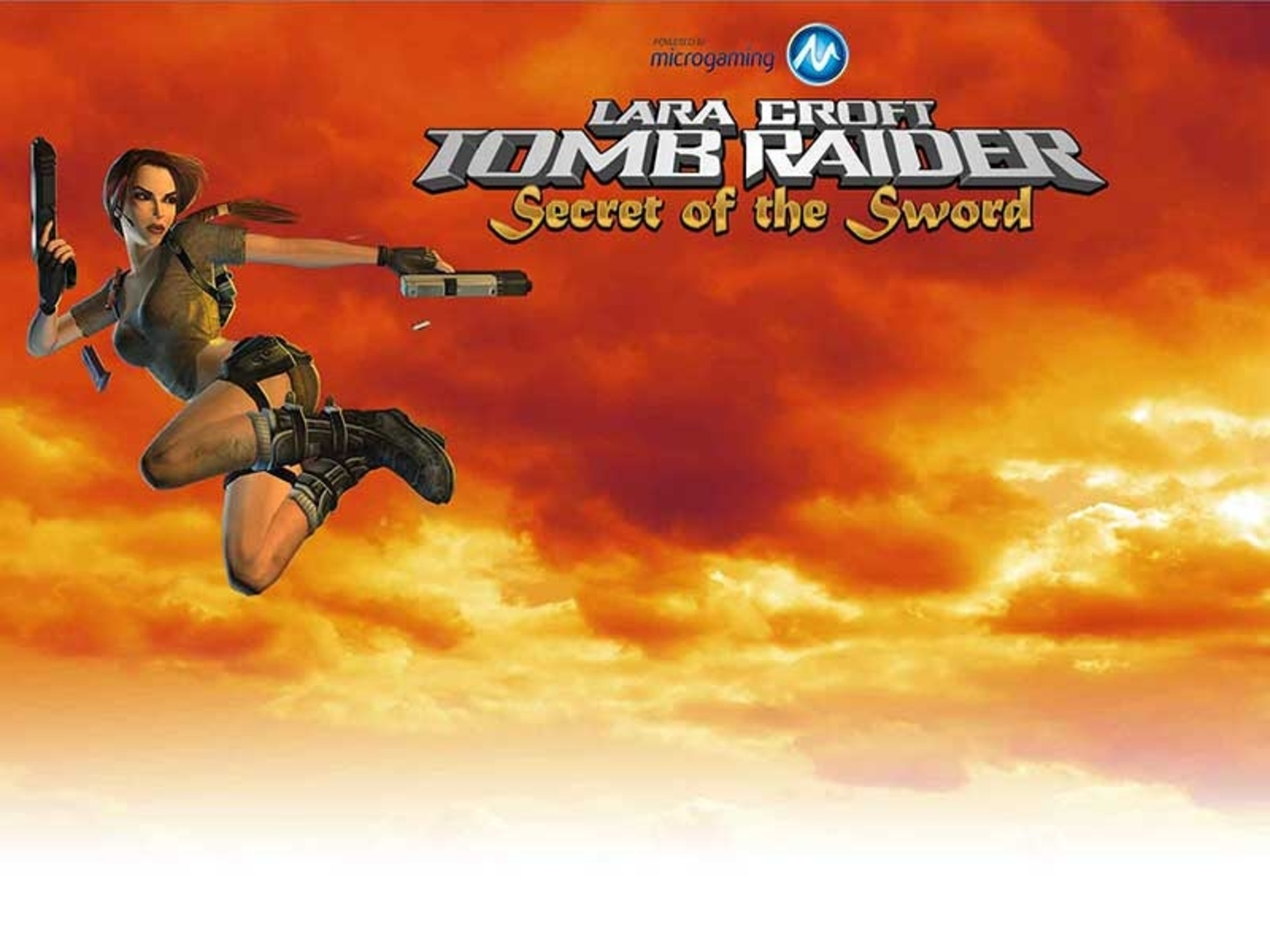 Se Tomb Raider Secret of the Sword Online Slot Demo Game, Microgaming