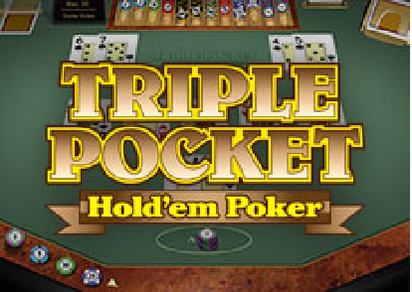 Se Triple Pocket Hold'em Poker (Microgaming) Online Slot Demo Game, Microgaming