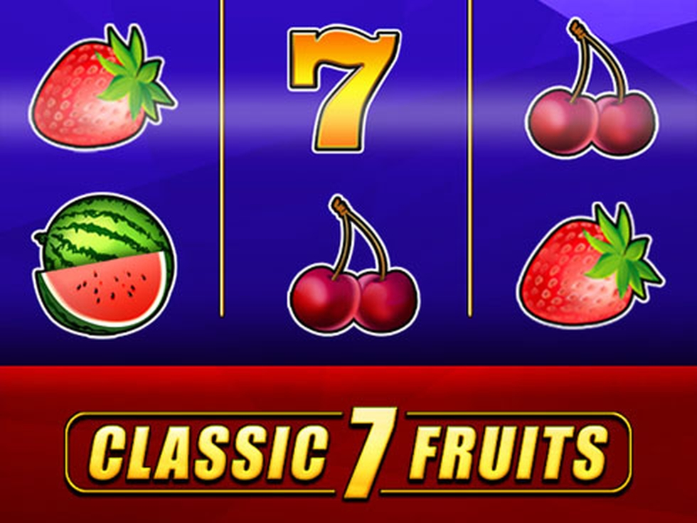 Se Classic 7 Fruits Online Slot Demo Game, Mr Slotty