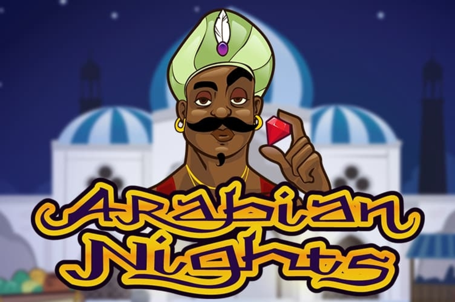 Se Arabian Nights (Netent) Online Slot Demo Game, NetEnt