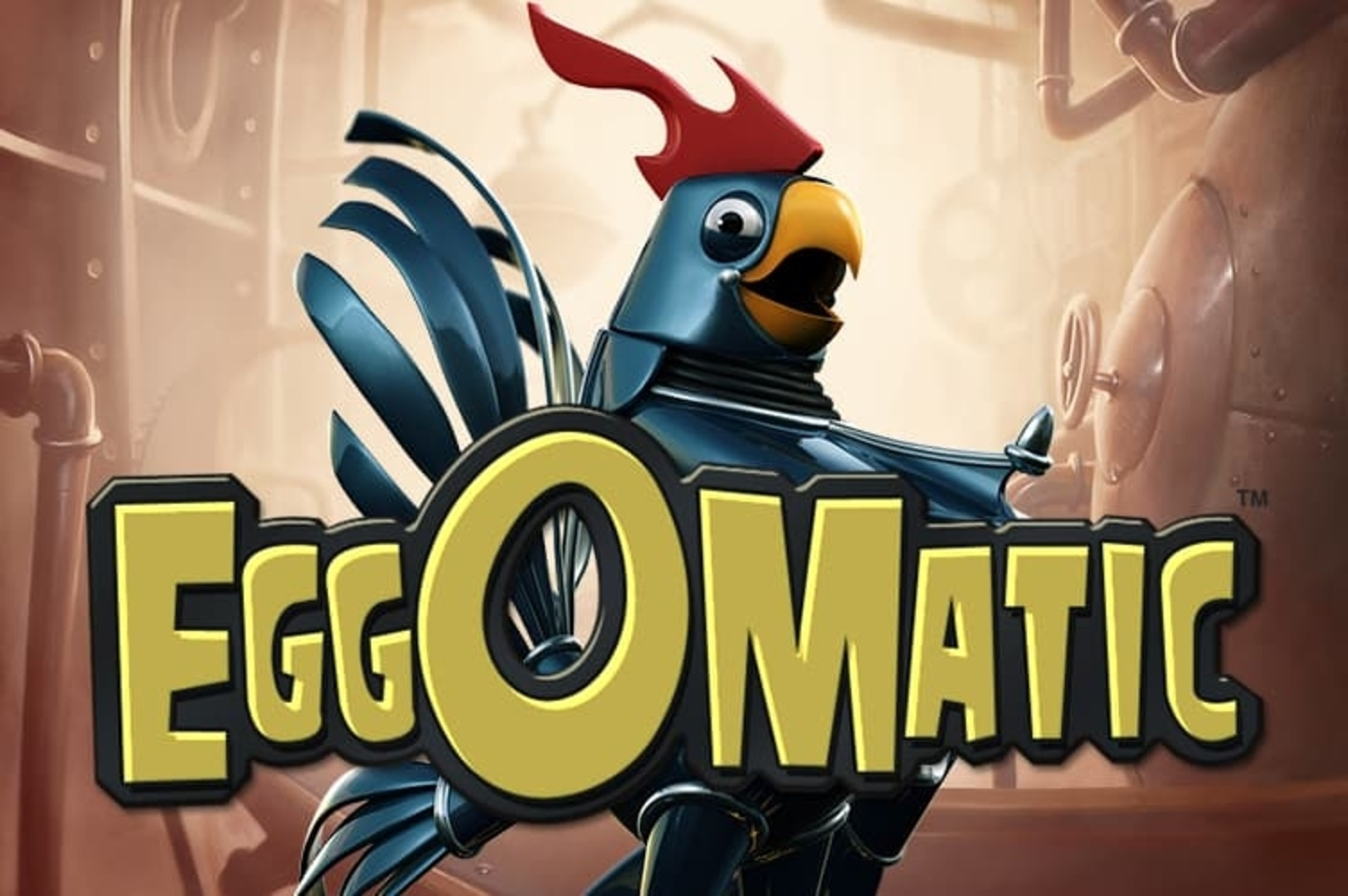 Se Eggomatic Online Slot Demo Game, NetEnt