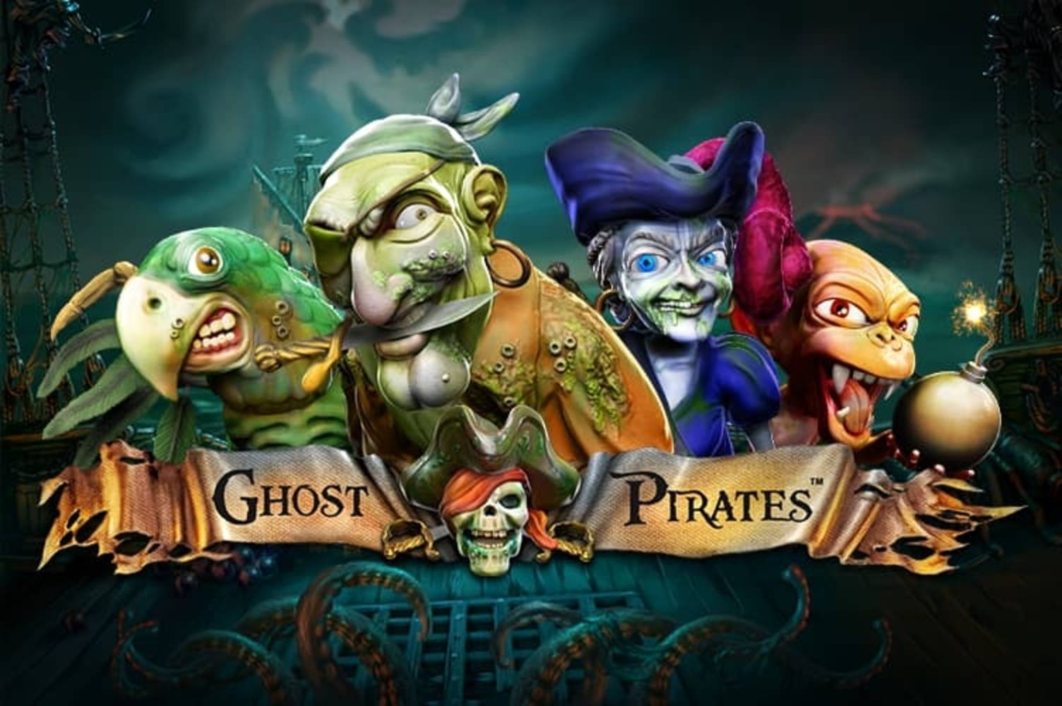 Se Ghost Pirates Online Slot Demo Game, NetEnt