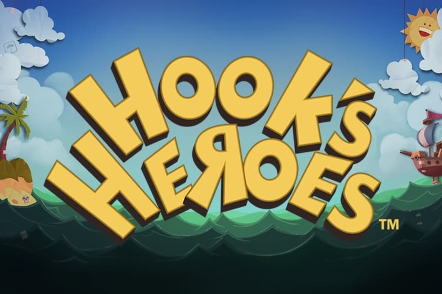 Se Hook's Heroes Online Slot Demo Game, NetEnt